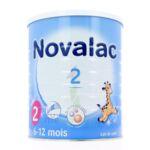 NOVALAC LAIT 2 BOITE 800G à Paris