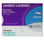 DIOSMINE TEVA CONSEIL 600 mg, comprimé pelliculé à Paris