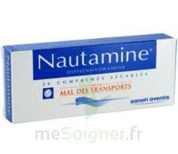 NAUTAMINE, comprimé sécable à Paris