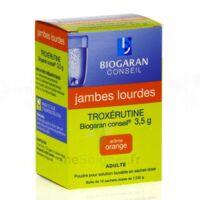 TROXERUTINE BIOGARAN CONSEIL 3,5 g, poudre pour solution buvable en sachet-dose à Paris