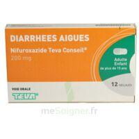 NIFUROXAZIDE TEVA CONSEIL 200 mg, gélule à Paris