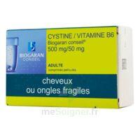 CYSTINE/VITAMINE B6 BIOGARAN CONSEIL 500 mg/50 mg Cpr pell Plq/120 à Paris