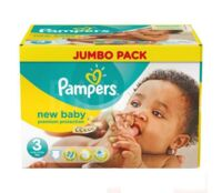 PAMPERS COUCHES NEW BABY 5-9KG 99 COUCHES à Paris