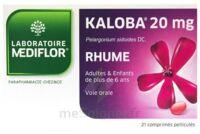 KALOBA 20 mg Cpr pell Plq/21 à Paris