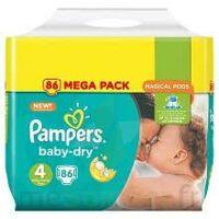 Pampers Baby Dry T4 - 8 à 16kg Megapack à Paris