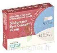 OMEPRAZOLE TEVA CONSEIL 20 mg Gél gastro-rés Plq/14 à Paris