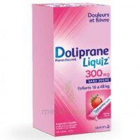 DOLIPRANELIQUIZ 300 mg Suspsion buvable en sachet sans sucre édulcorée au maltitol liquide et au sorbitol B/12 à Paris