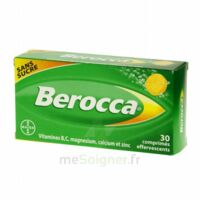 BEROCCA Comprimés effervescents sans sucre T/30 à Paris