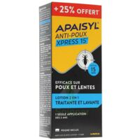 Apaisyl anti-poux Xpress 15' +25% offert à Paris