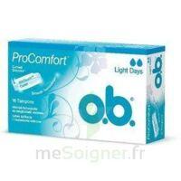 OB PRO COMFORT, light Flow , bt 16 à Paris